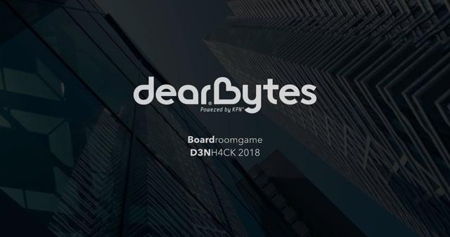 Dearbytes Boardroomgame V1