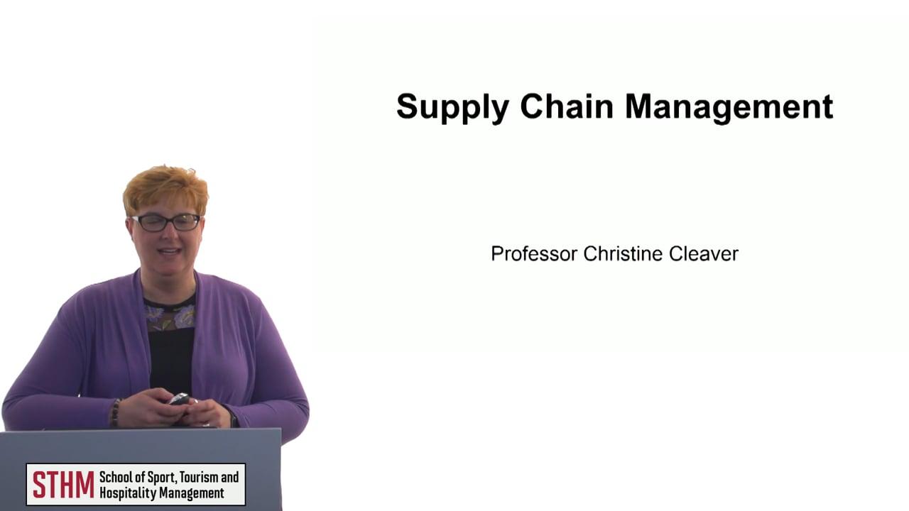 60636Supply Chain Management