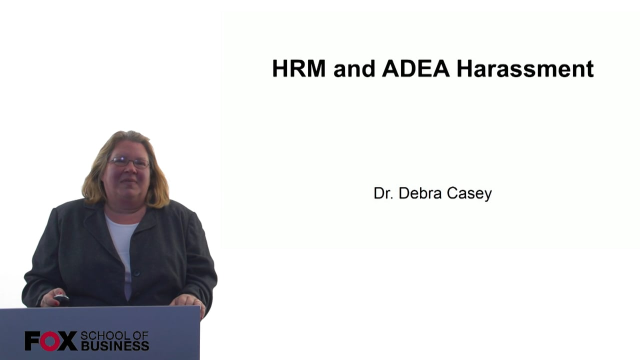 60691HRM and ADEA Harassment