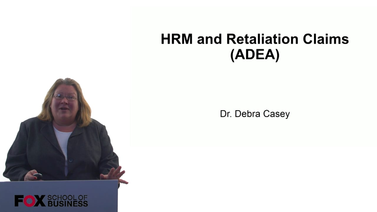 60705HRM and Retaliation Claims (ADEA)