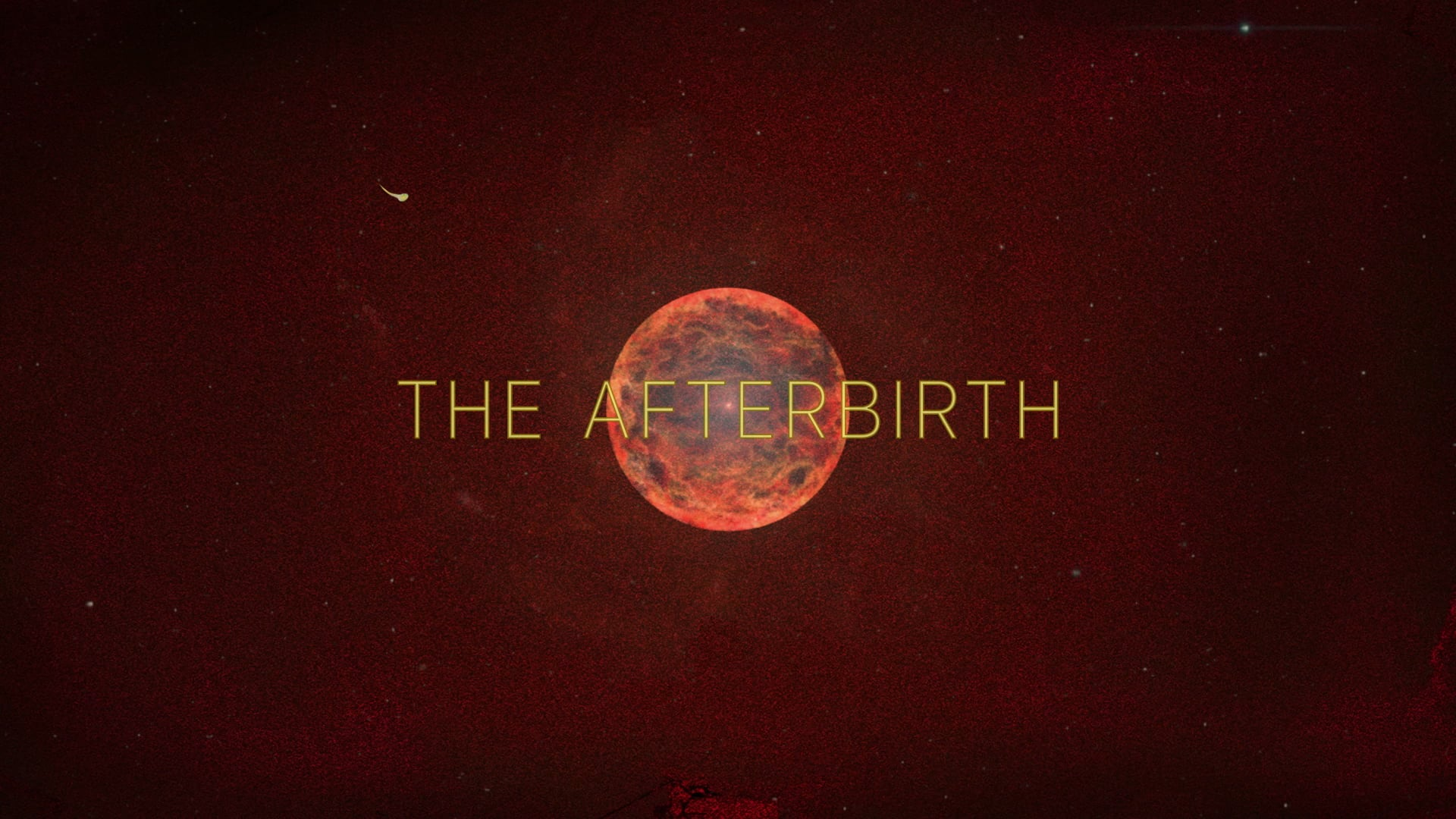 The afterbirth (short film teaser trailer 2018)