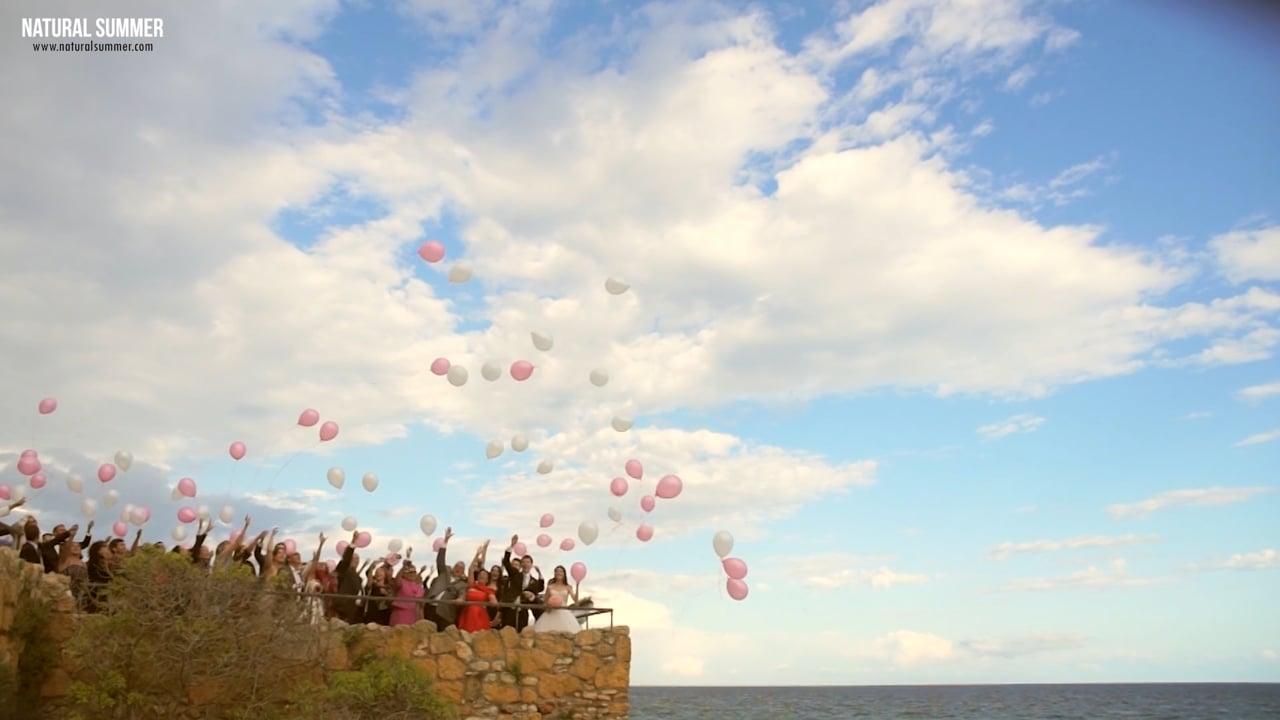 Natural Summer Boda en castillo Tamarit Tarragona