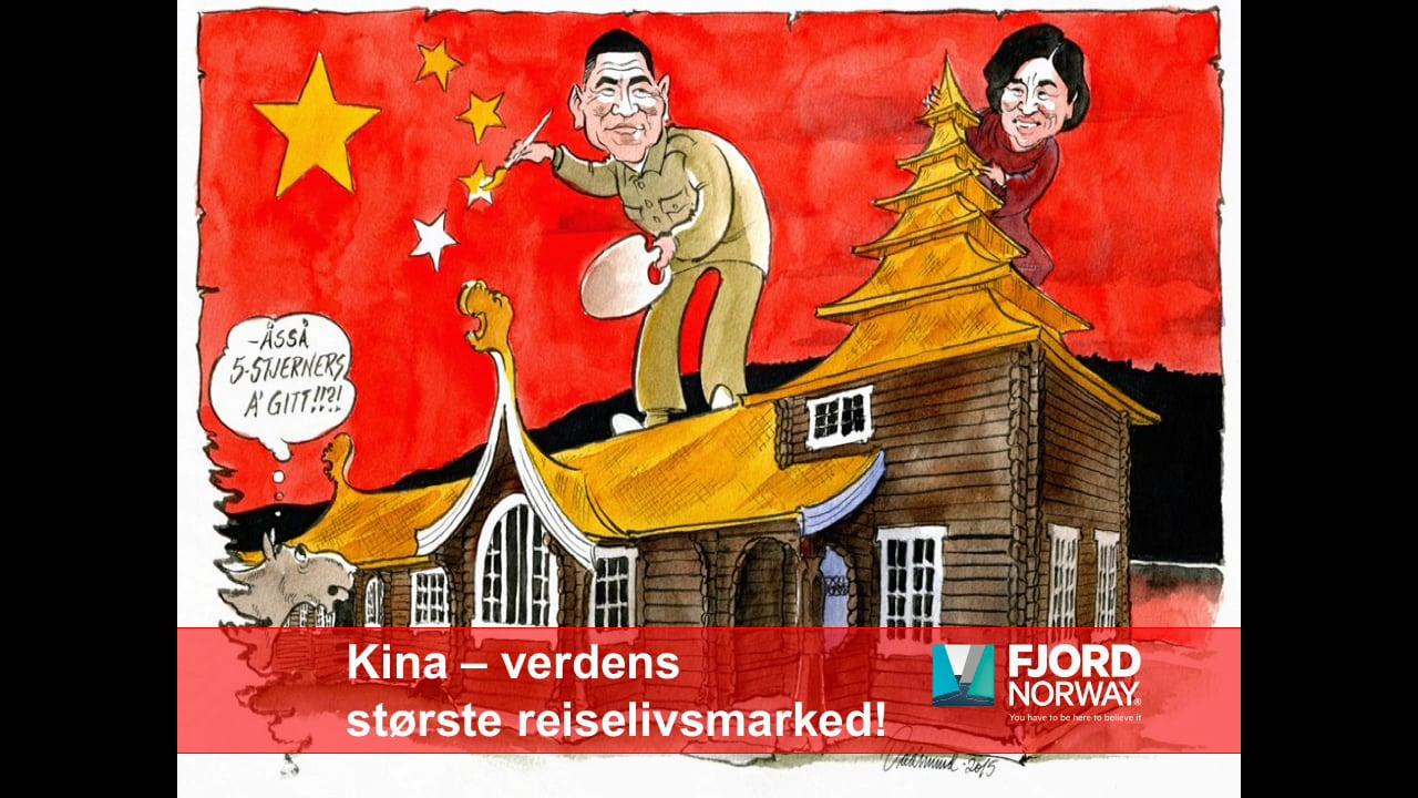 Fjord Norge - Kina presentasjon 2018 - NCE