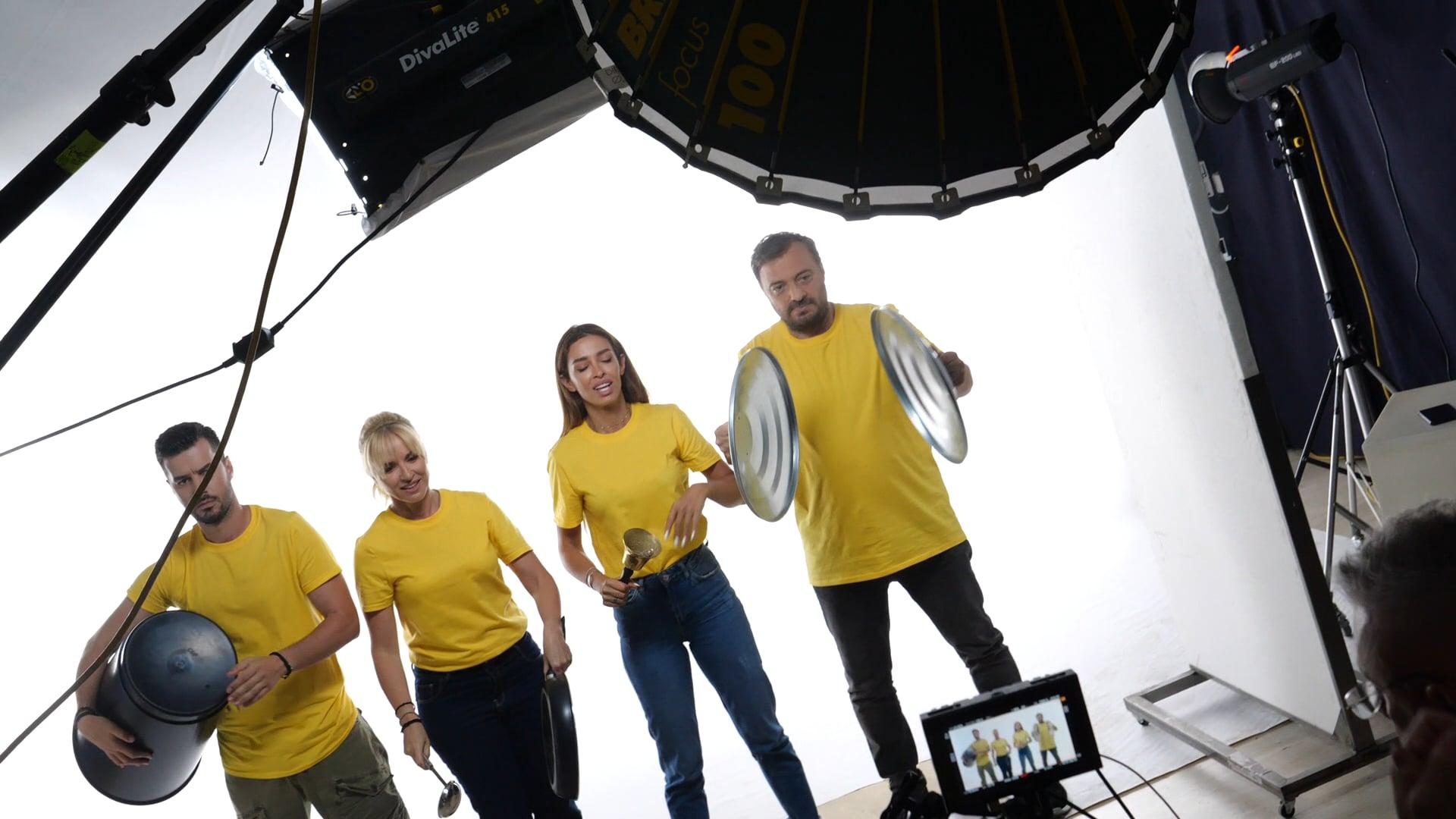Κάνουμε Θόρυβο - Διαφημιστική Καμπάνια - Backstage