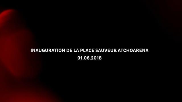 BIDART_FILM INAUGURATION PLACE ATCHOARENA 01.06.2018