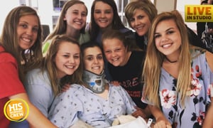 Local Teen's Life Changes in Instant, Community Shows Love