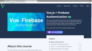 Implement Firebase Authentication