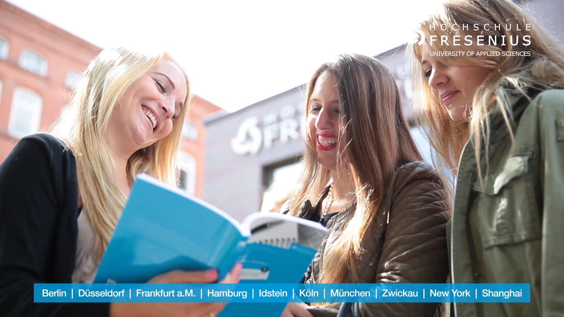 Hochschule Fresenius - Bildung, die prägt! ( TV Spot )