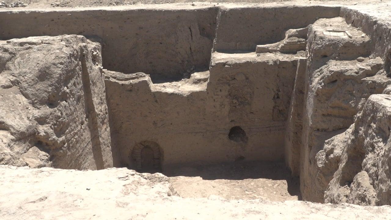 CGTN - NAMANGAN, UZBEKISTAN - JUNE 2018 - ARCHEOLOGY IN THE FERGANA VALLEY
