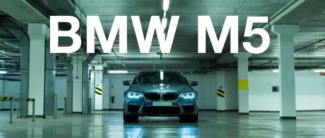 BMW M5 2018│Studio Navara