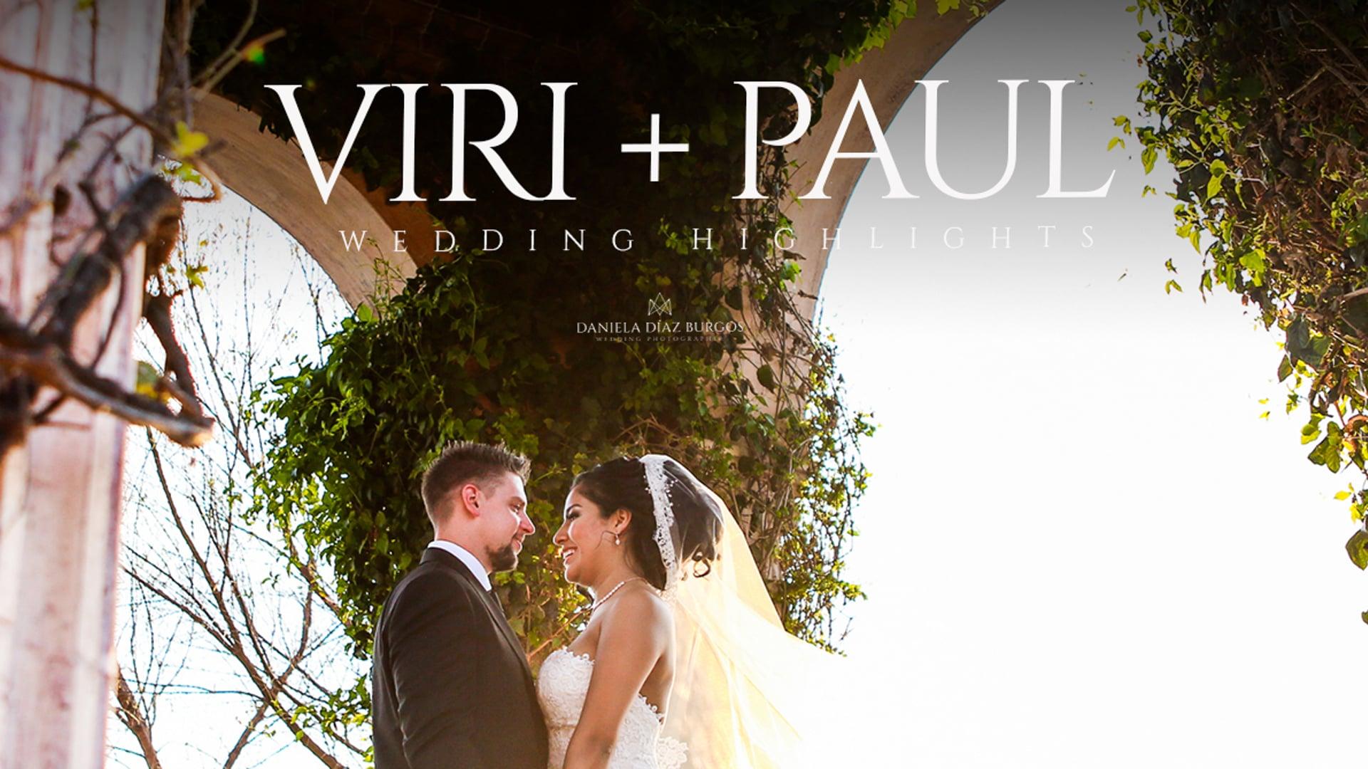 "Viri + Paul ""Wedding highlights"""