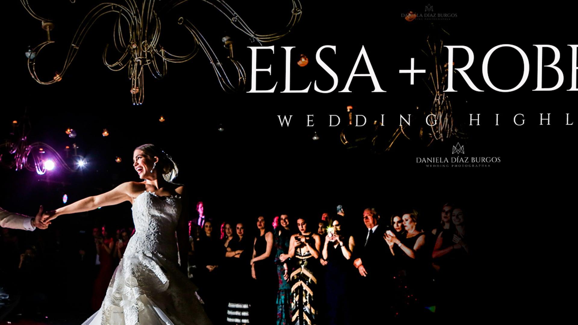 "Elsa + Roberto ""Wedding highlights"""