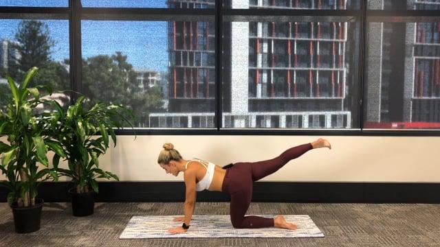 15min pilates cardio workout