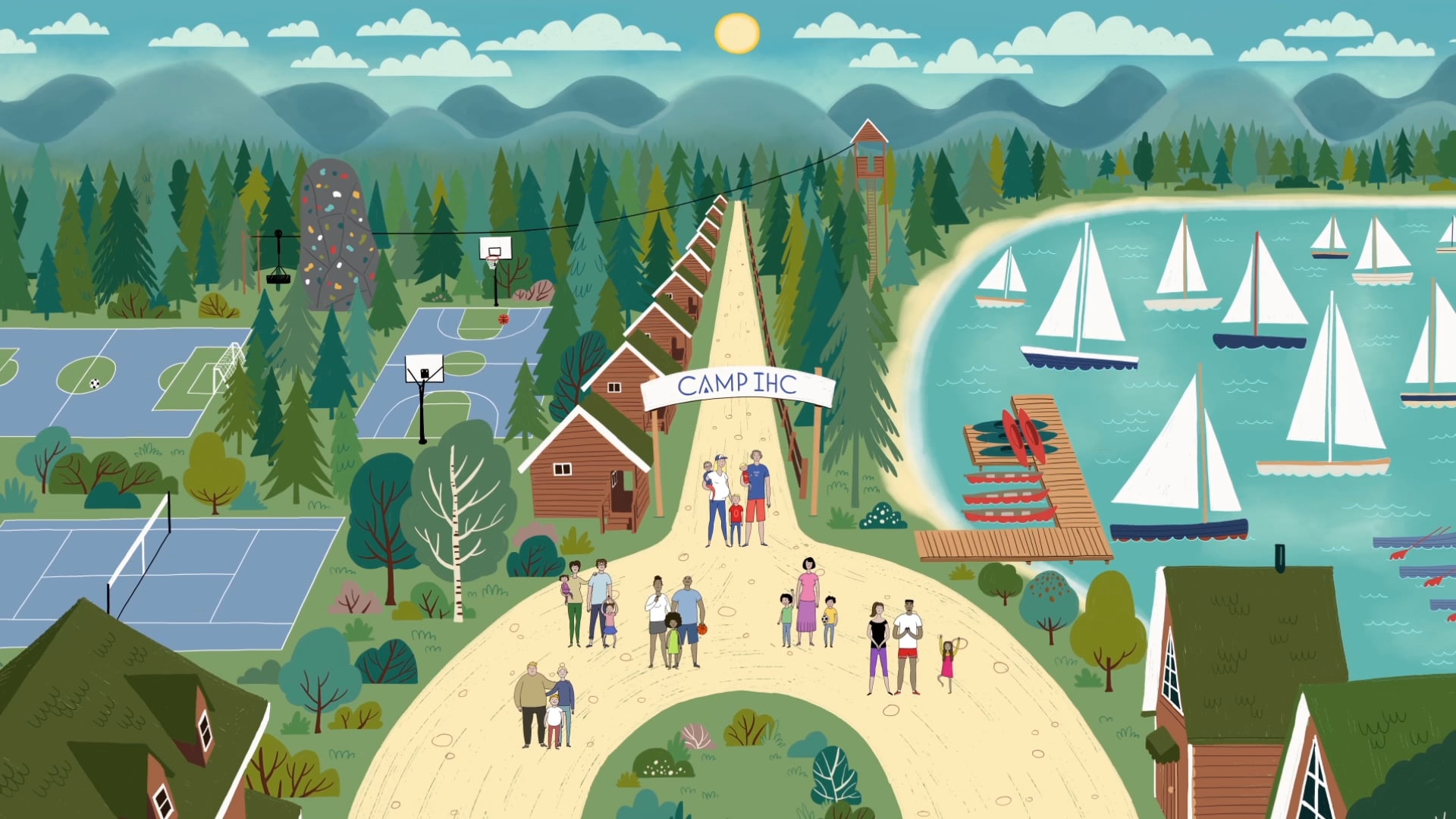 THE PSYCHOLOGY OF SUMMER CAMP \\ AN ANIMATED SHORT