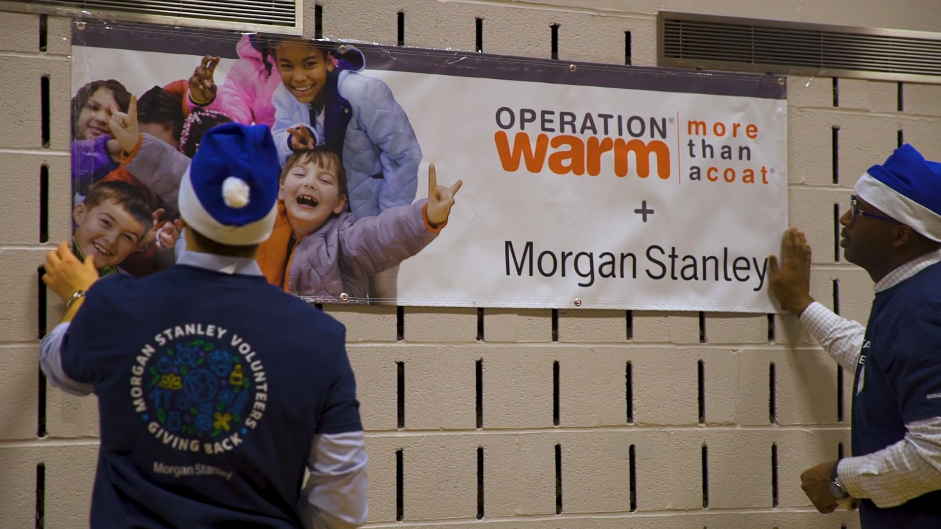 Operation Warm + Morgan Stanley Corporate Charity Event