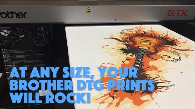 Print Bigger with GTX's XL Platen!