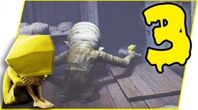 THIS MONSTER IS UNREAL! IT'S MAKING ME RAGE! - Little Nightmares Gameplay