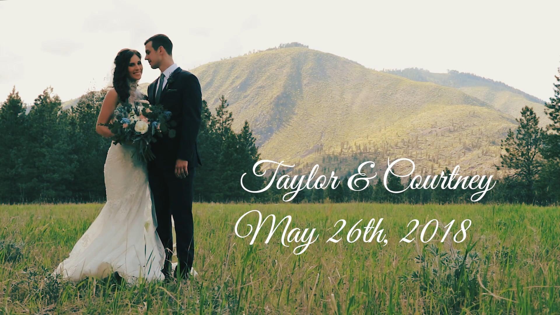 Courtney & Taylor   Wedding Film
