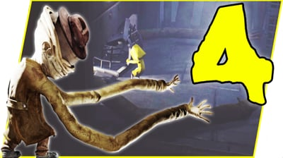 THE MONSTER IS AFTER ME! WE HAVE TO KILL IT! - Little Nightmares Gameplay