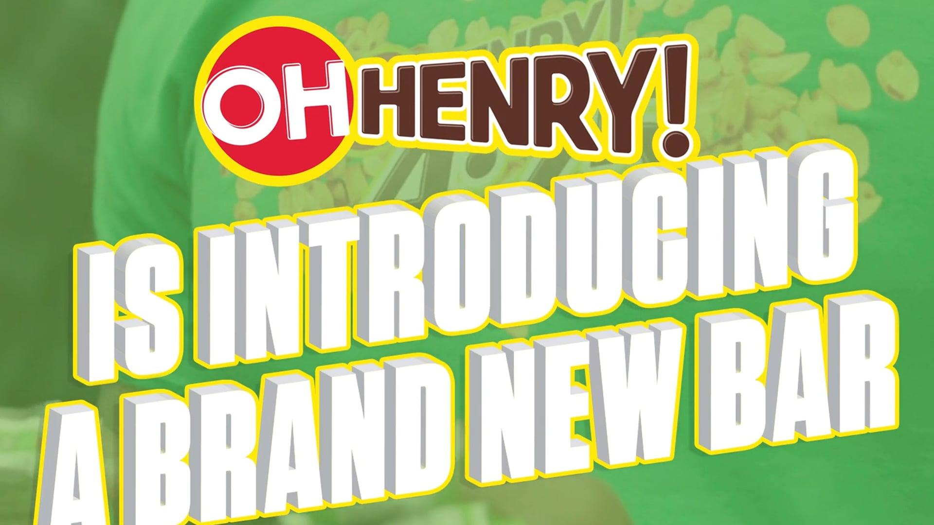 Oh Henry! 4:25 Bar Promo