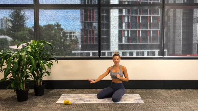 20min barre inspired upper body workout