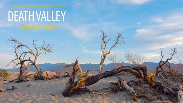 Death Valley Long Relax