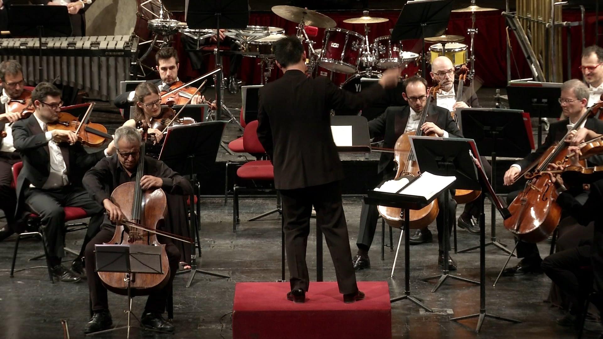 Bernstein Three Meditations from Mass for cello and orchestra, Giovanni Sollima, cello, Cameristi della Scala, Wilson Hermanto