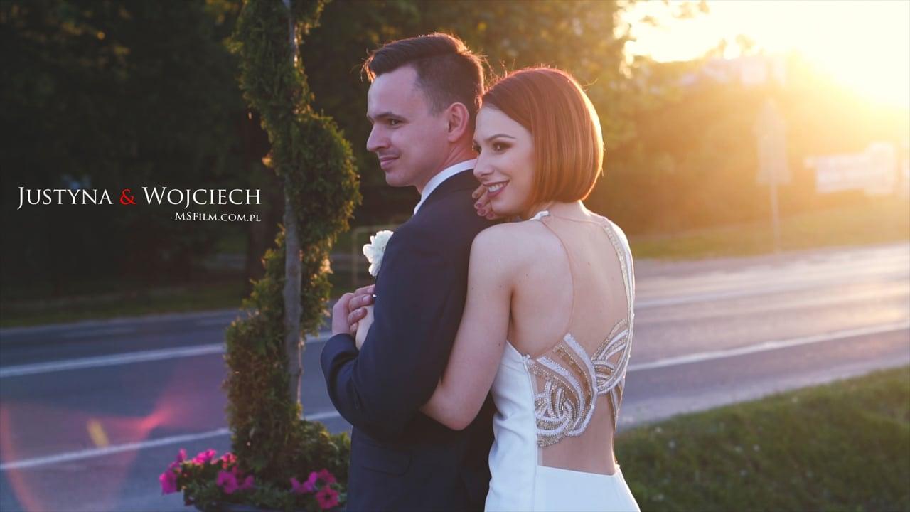 Justyna &  Wojciech | Teledysk Ślubny | MSFilm.com.pl