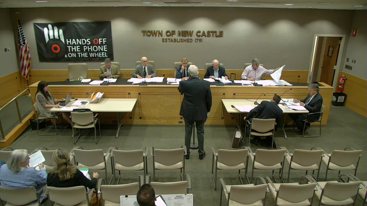 Town of New Castle Zoning Board Meeting 6/27/18