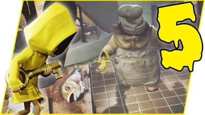SNEAKINESS IS THE KEY! - Little Nightmares Gameplay