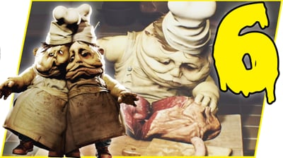 THEY'RE TRYING TO COOK ME! - Little Nightmares Gameplay