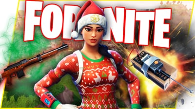 CHRISTMAS CAME EARLY! C4 & HUNTING RIFLES! - Fortnite Battle Royale