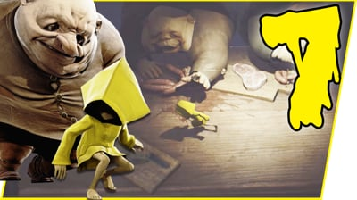 THIS IS INSANE! HOW CAN I SURVIVE THIS?! - Little Nightmares Gameplay