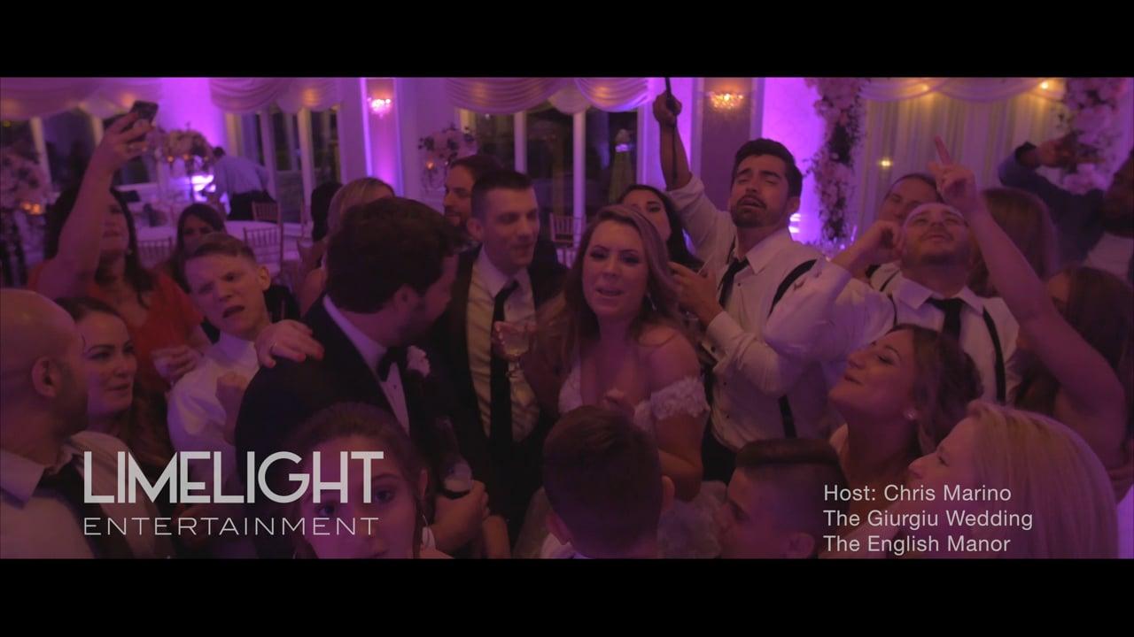 The Giurgiu Wedding   The English Manor   Chris Marino of Limelight Entertainment