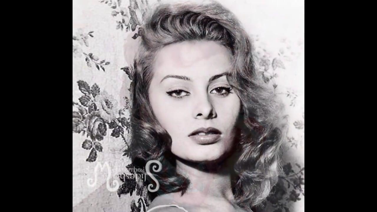 Metamorphosis of Sophia Loren