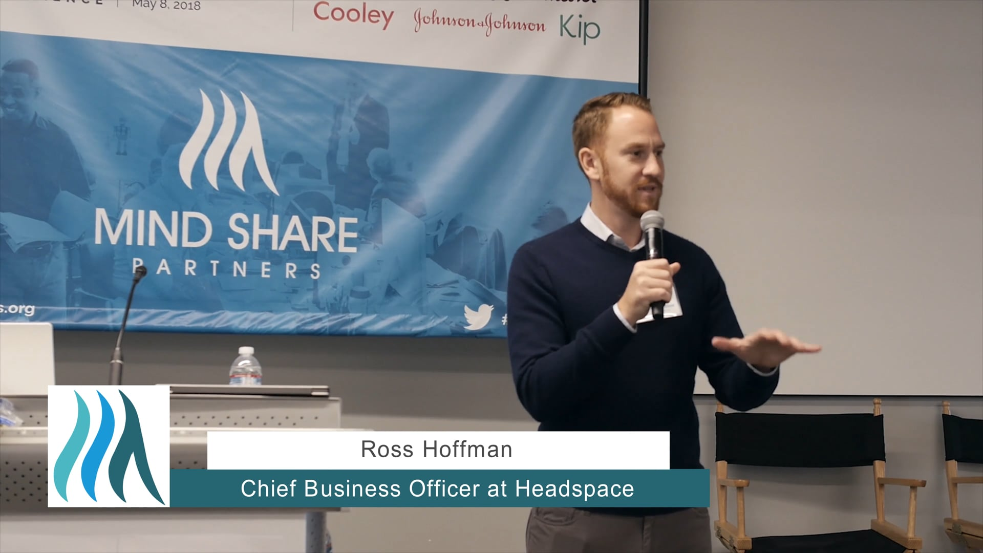 Ross Hoffman, Headspace - Mental Health at Work Mini-Conference, May 2018