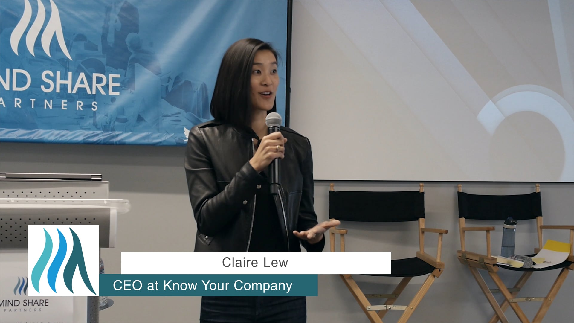 Claire Lew, Know Your Company - Mental Health at Work Mini-Conference, May 2018