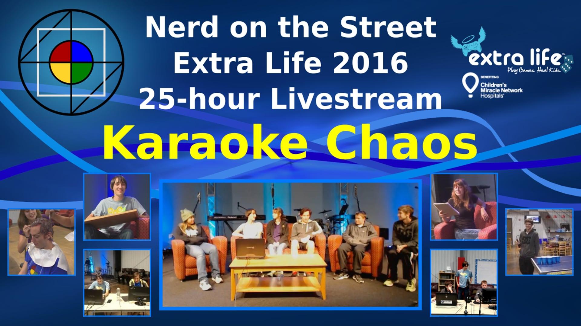 Karaoke Chaos - Extra Life 2016 Clip