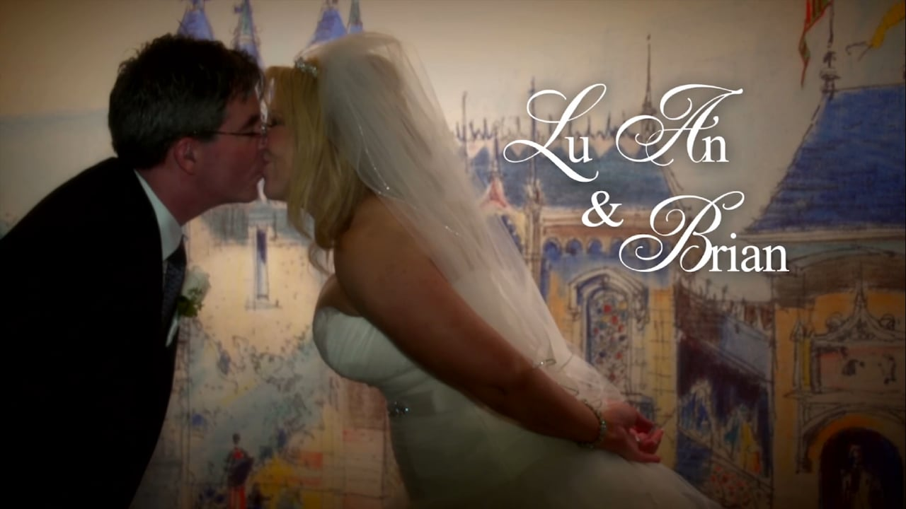 LuAn & Brian ~ Disneyland Resort Wedding Video