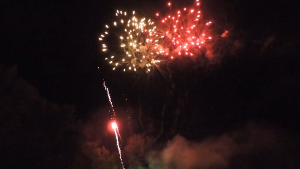 2018.06.30 - Mindszent tűzijáték