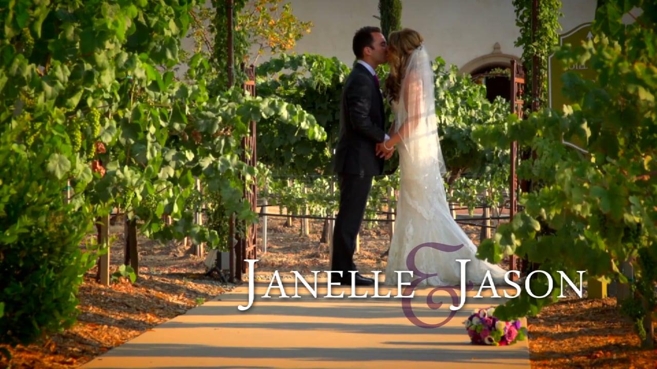 Janelle & Jason Ponte Winery Wedding Video