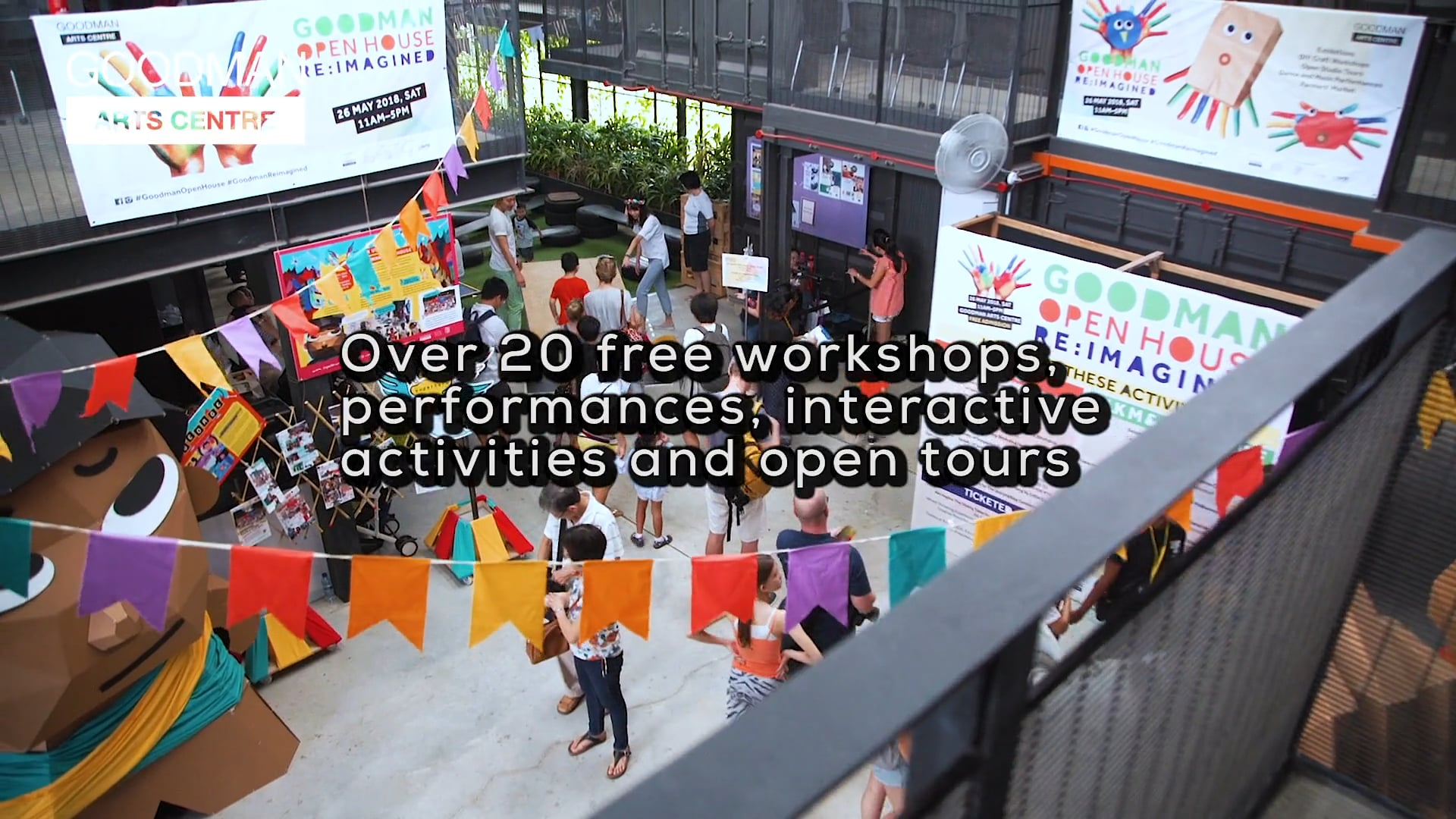 Goodman Open House RE-Imagine Event Trailer