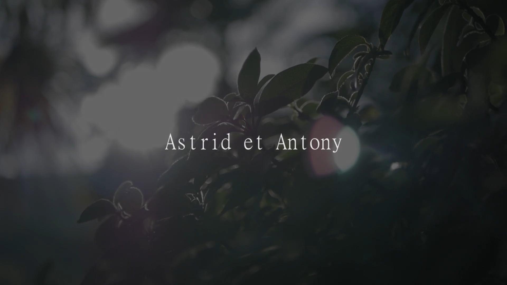 Astrid et Antony - Juin 2018