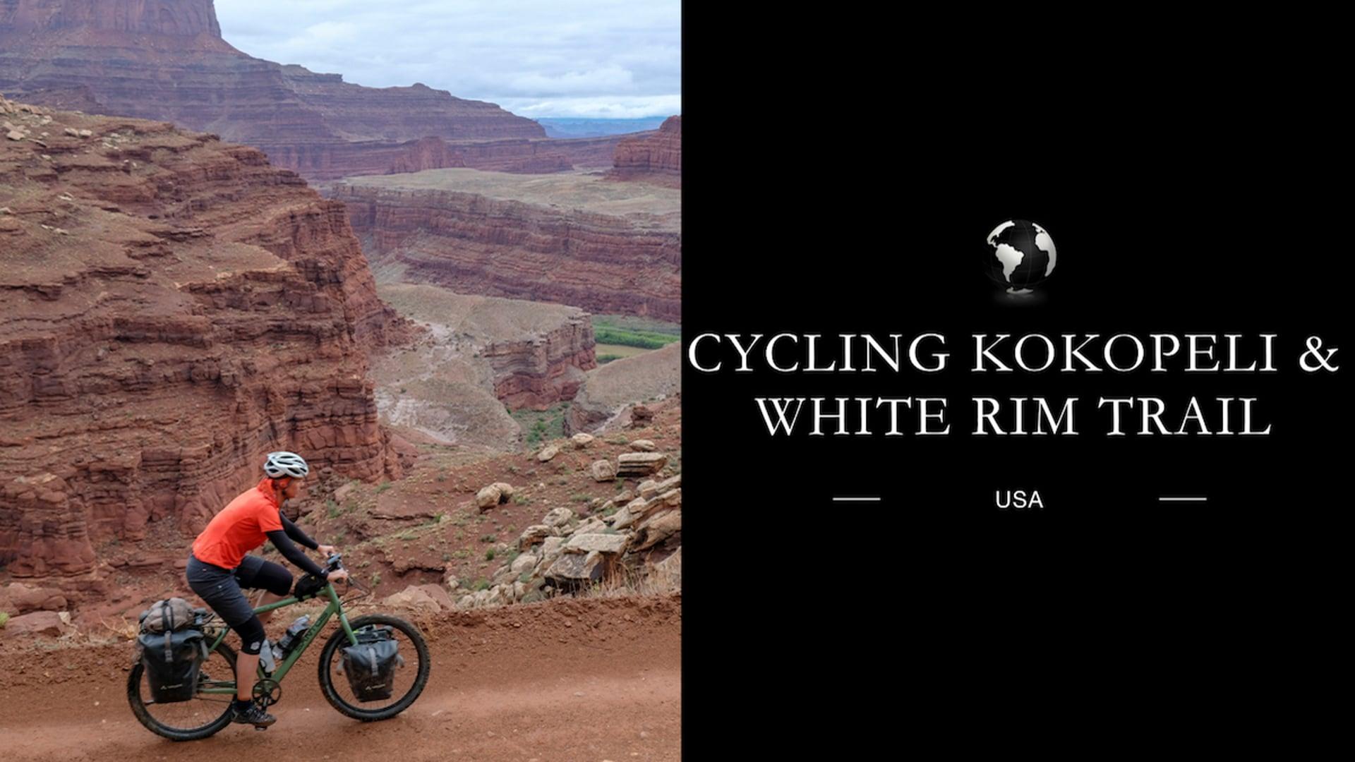 Cycling Kokopelli trail and White Rim trail USA