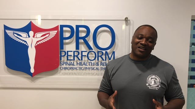 Kevin - Pro Perform Spinal Health & Rehab