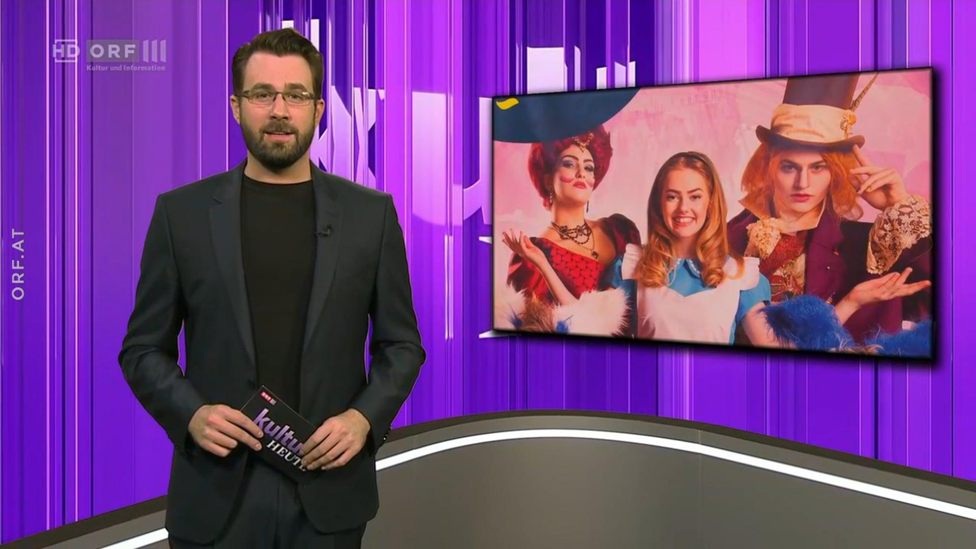 ORF III Alice im Wunderland Bericht
