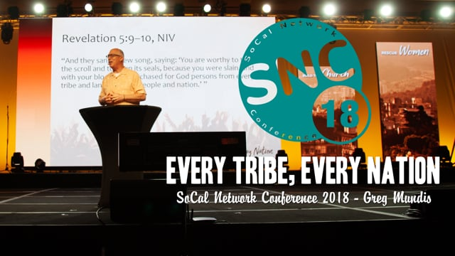 SoCal Network Conference 2018 - Missions Banquet Service - Greg Mundis