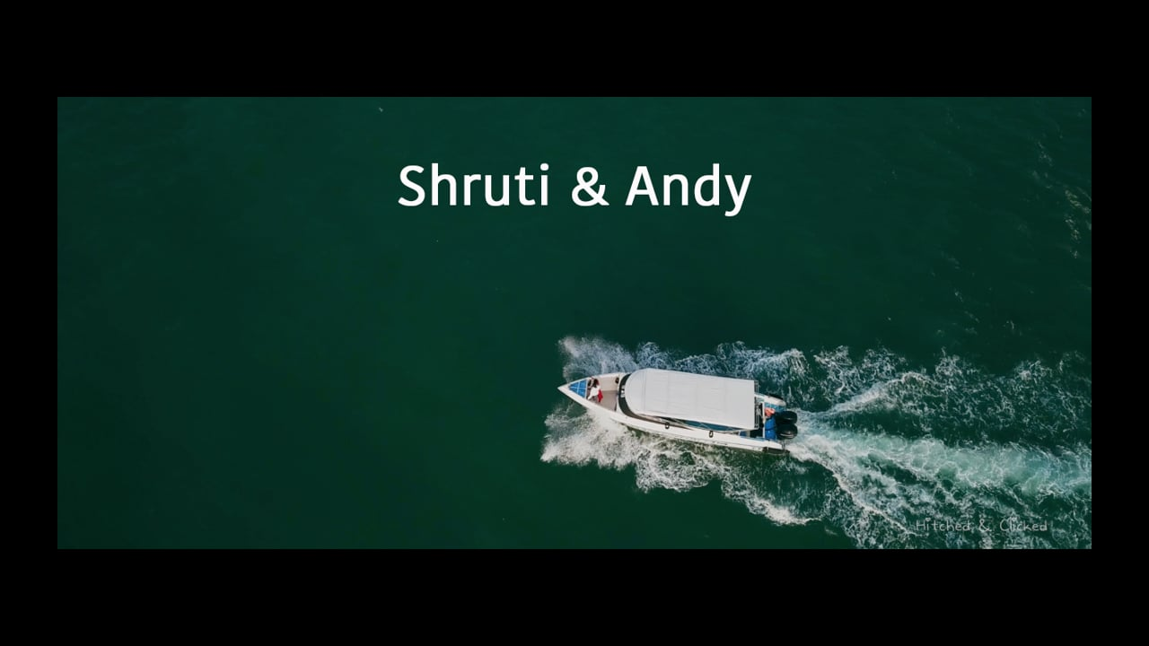 Shruti & Andy Wedding Trailer   Thailand