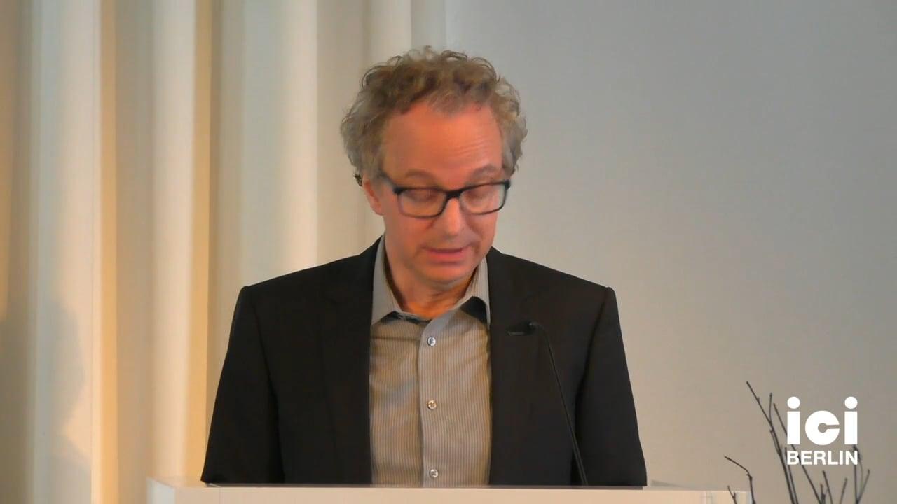 Talk by David Martyn