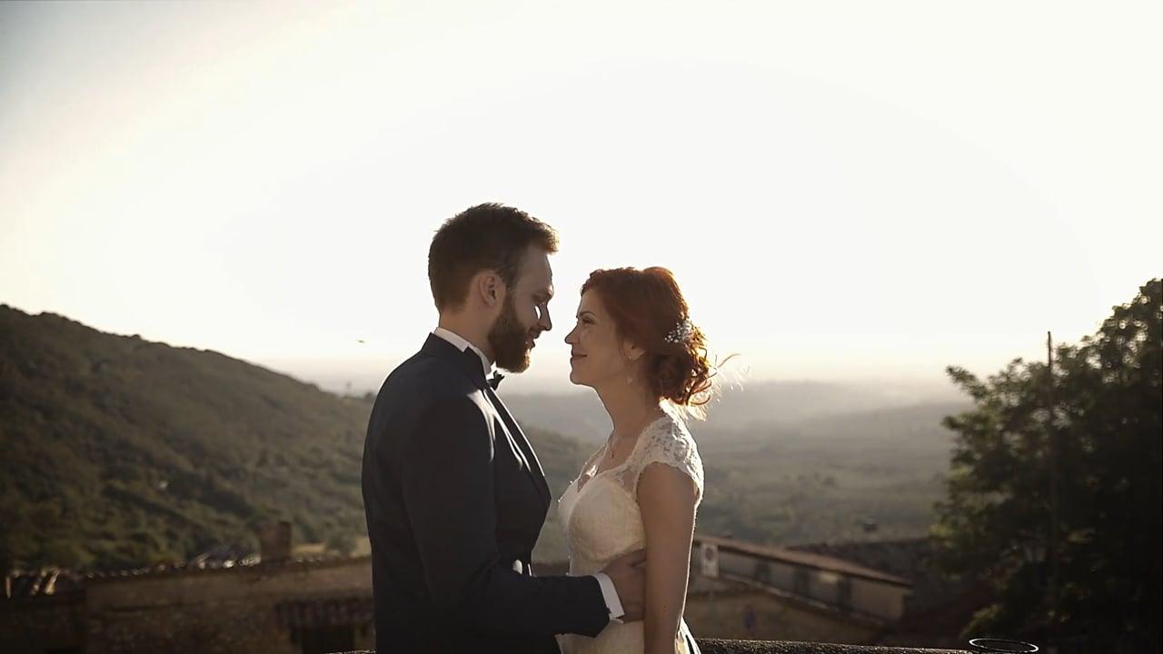 Саша и Наташа свадьба в замке. Италия 2017